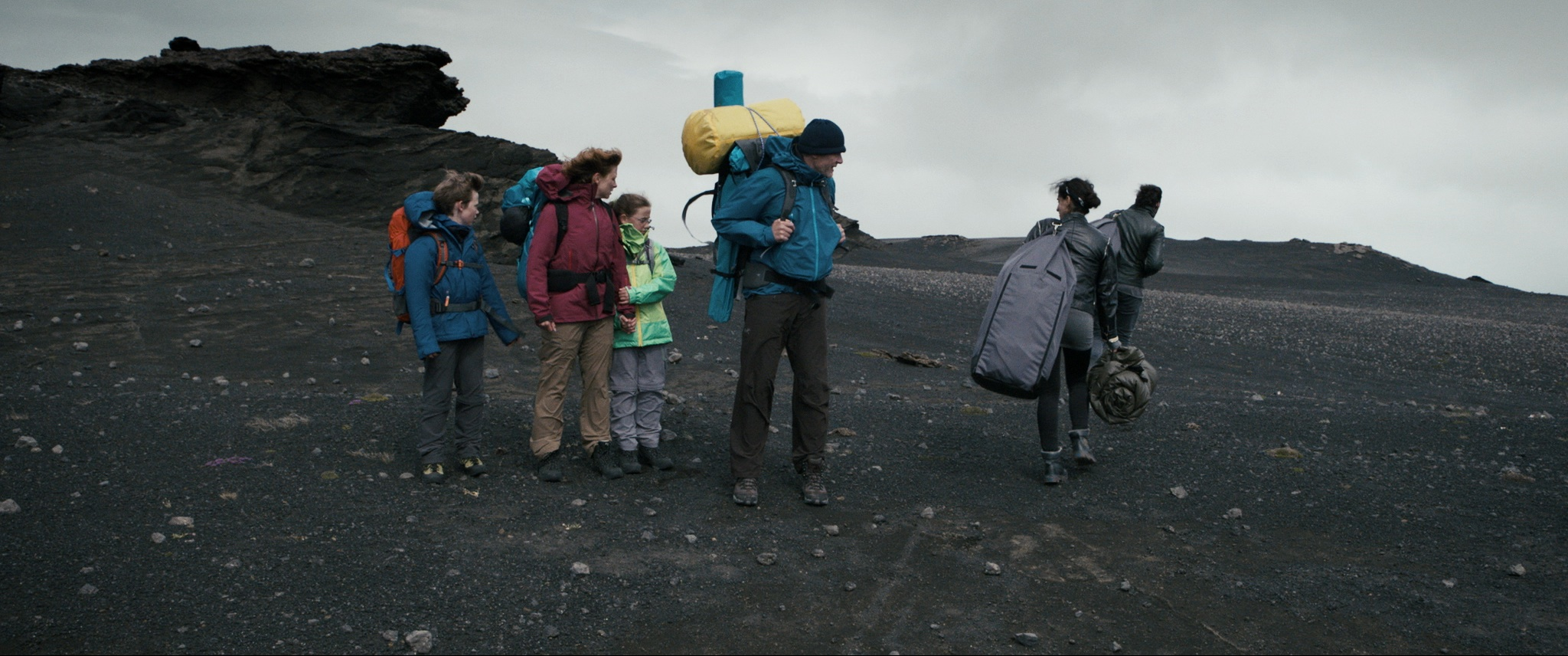 First encounter in the iceland desert