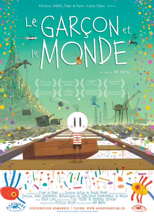 Affiche du film d'animation O meninho O Mundo