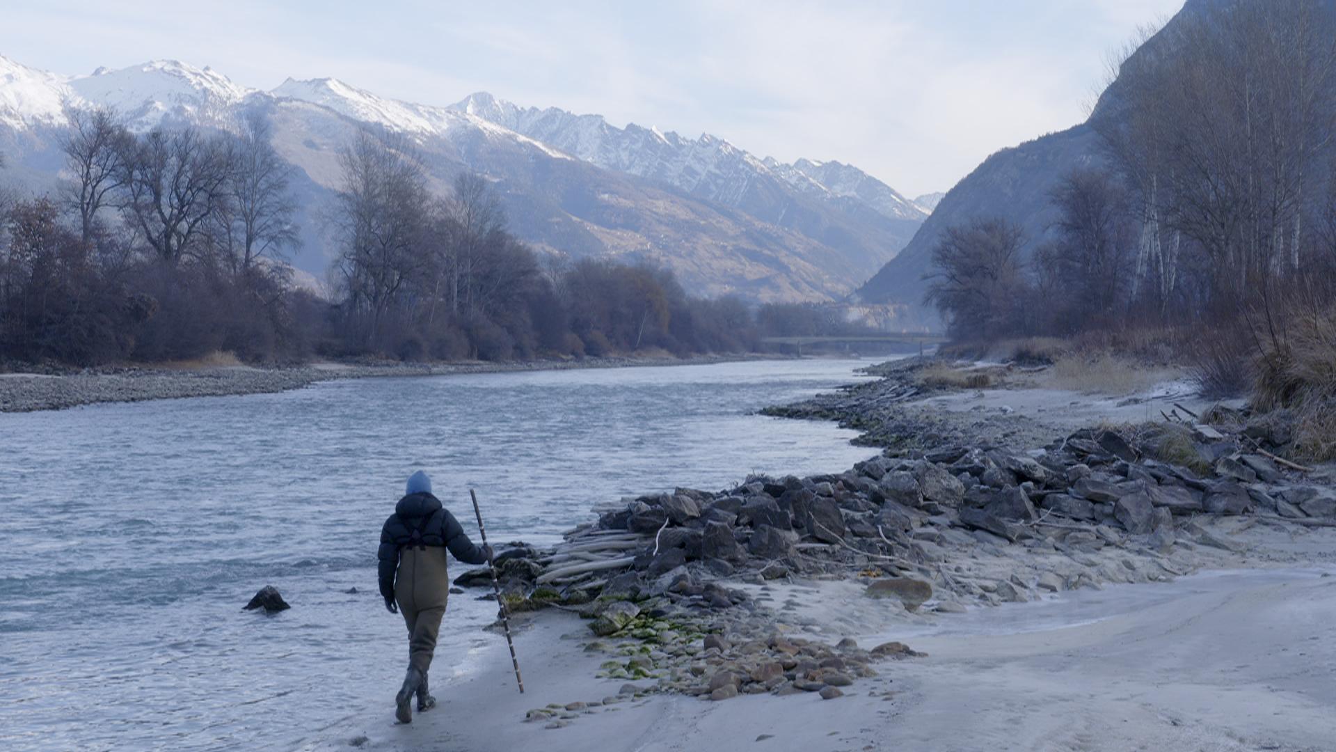 Le Rhone au Valais