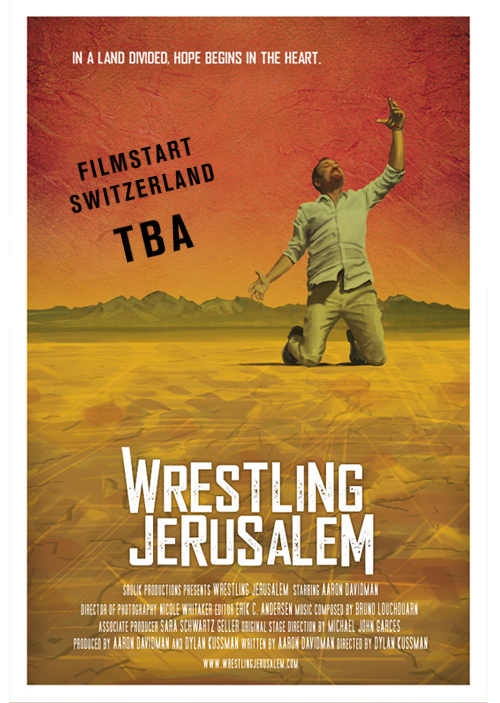 Filmposter of Wrestling Jerusalem