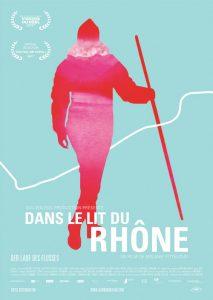 """Filmposter pour le documentaire """"Dans le lit du Rhône"""""""