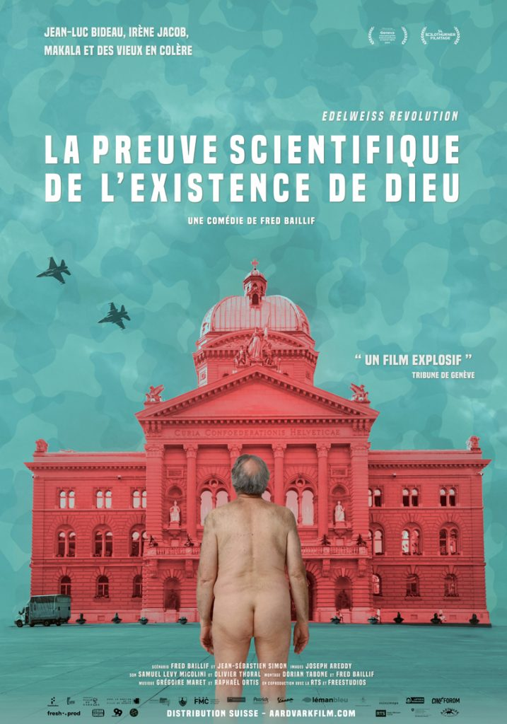 affiche du film La Preuve scientifique de l'existence de Dieu