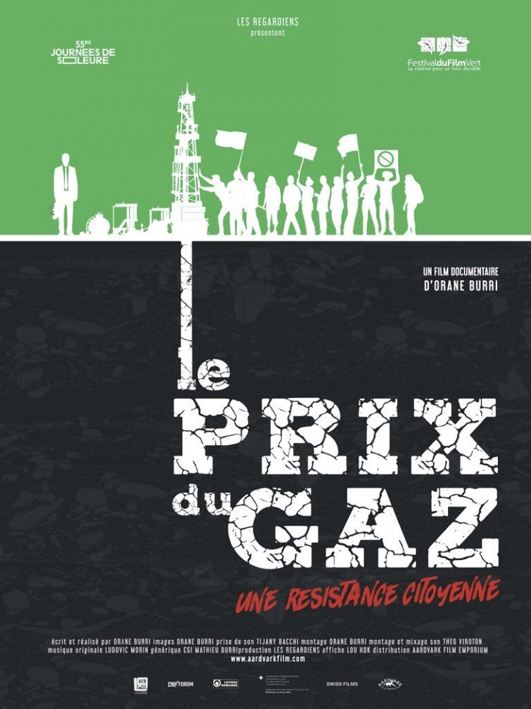 Le Prix du gaz, une résistance citoyenne - filmposter